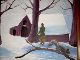 Home place in Winter