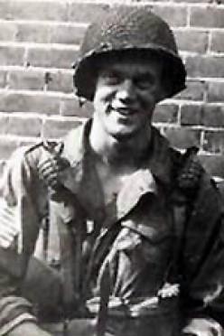 Pfc David Kenyon Webster, E Company, 2nd Battalion, 506th Parachute Infantry Regiment, 101st Airborne