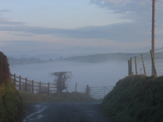 Lonely country roads in the UK usually always have tales of ghosts and the supernatural.