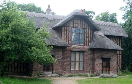 Queen Charlotte's Cottage, Kew Gardens, London. This was a haven for both Queen Charlotte and the King in the 1700's.