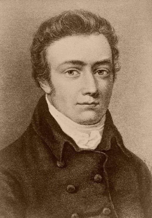 Portrait of Samuel Taylor Coleridge