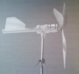 This is the type of wind turbine one can make utilizing the Power4Patriots Guide and videos.