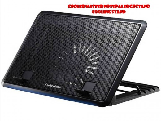 The Cooler Master NotePal ErgoStand Cooling Stand can keep your 17-inch or smaller laptop running cool and quiet.