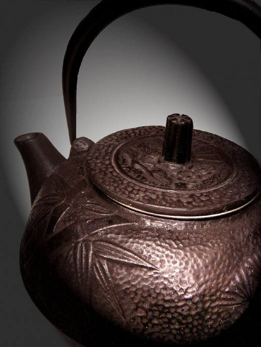 A traditional tea pot