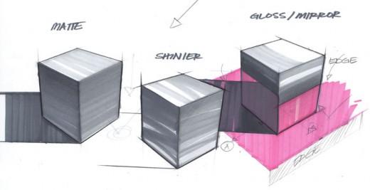 sketching cubes