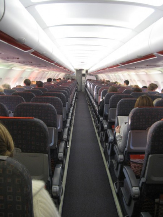 Cabin of an EasyJet