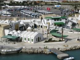 La Goulette, Tunisia cruise ship disembarkation area