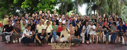 We conduct annual warrior camp for all our community business partners