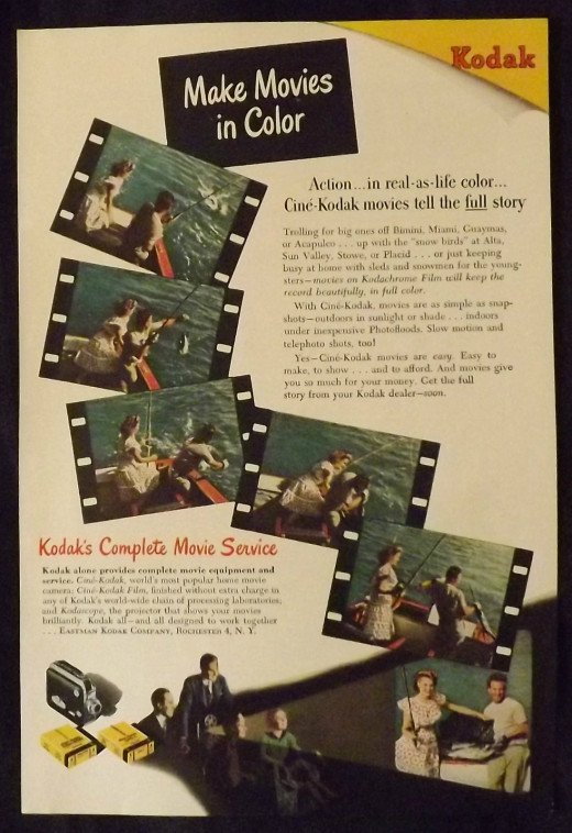 1947 Eastman Kodak Ad