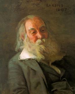 Portrait of Walt Whitman by Thomas Eakins from RasMarley  flickr.com