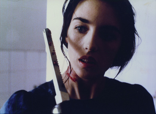 Isabelle Adjani plays the revolutionary, Shirra, in the move Ishtar. She is pictured here in the movie, Possession.