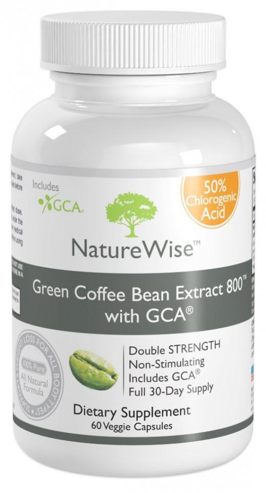 Green coffee bean extract is a popular weight loss supplement.