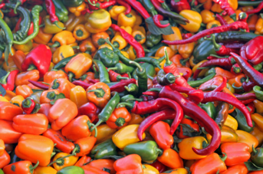 There are all kinds and varieties of peppers.