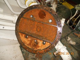 Auxiliary Engine Jacket Water Cooler End Cover