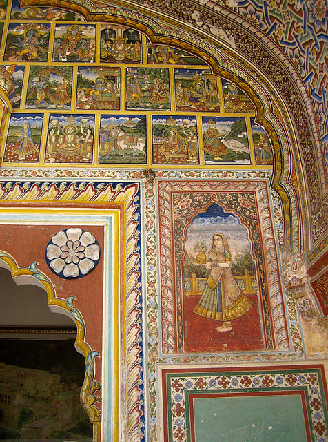 Entrance of Samode Haveli