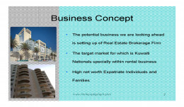 Real Estate Brokerage EShop Idea Business Concept