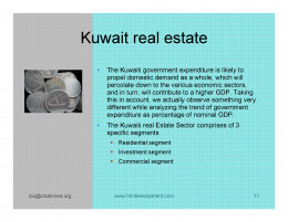 Kuwait Real estate market