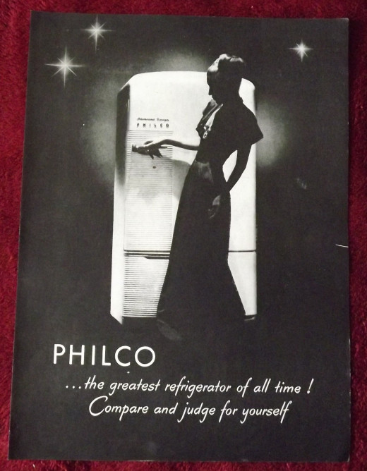 1946 Philco Refrigerator Ad