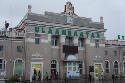 Ulaan Baatar Railway Station