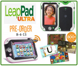 Hot Toy for Christmas 2013: The New Leap Pad Ultra