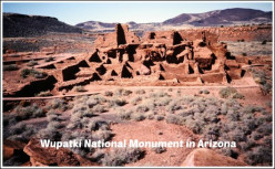 Wupatki National Monument ~ Photos of 12th Century Indian Ruins in Arizona
