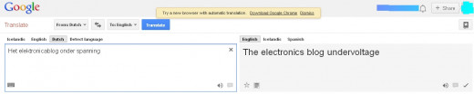 This is the title of the blog. A little is lost in the translation.