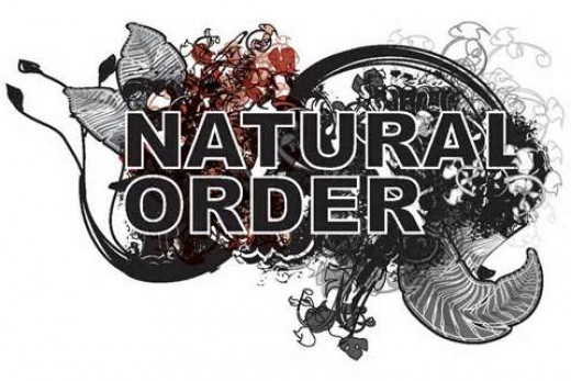 Natural order has been interrupted by chaos that only divine order can heal