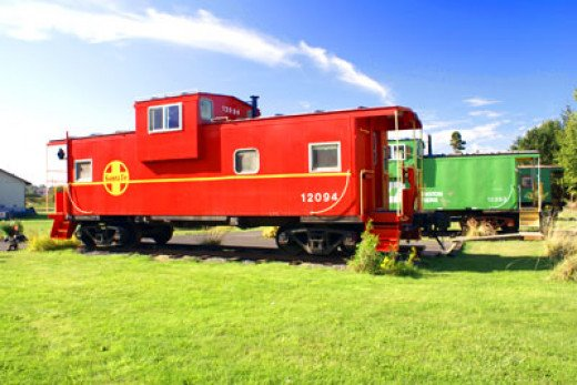 One of the Cabooses at the Red Caboose Getaway.