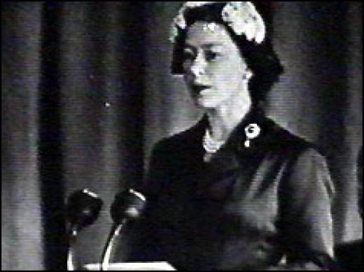 Queen Elizabeth II 1958
