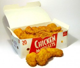 Process enough and you create Chicken_McNuggets