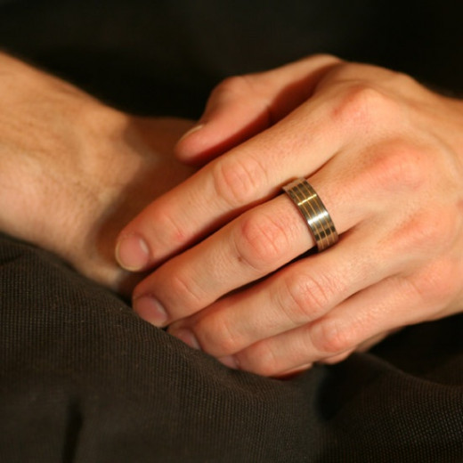 Man With Wedding Band