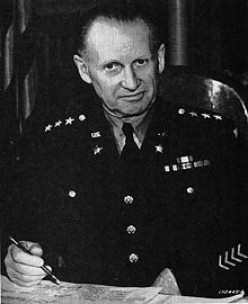 Gen. Leslie McNair. While visiting Normandy in July 1944, he was killed during an Allied bombing raid.