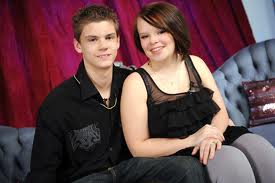Tyler and Catelynn circa 2010 Promotional photo for 'Teen Mom' on MTV