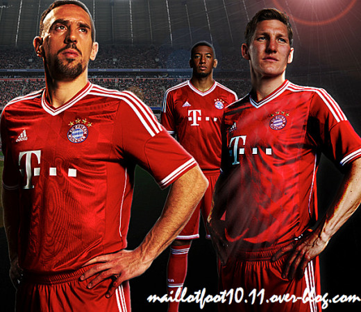 Bayern Munich 2013/14 Home Kit
