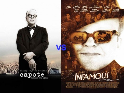 Capote vs. Infamous Movie Posters