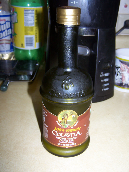 We really enjoy the flavor of the Colavita brand extra virgin olive oil for many dishes. A less expensive type of olive may be more appropriate for frying.