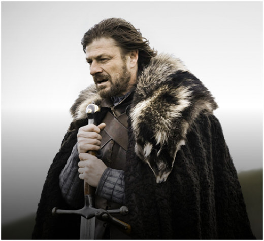 Lord Eddard Stark, King in the North, Lord of Winterfell and Warden of the North