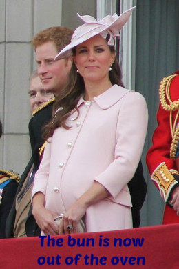 Duchess of Cambridge in June