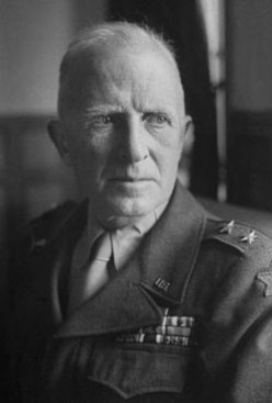 Gen. Orlando Ward. The seemingly mild mannered Ward became involved in controversy during the North African Campaign and the target of Patton's ire.
