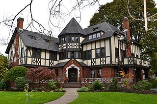 The Gamma Phi Beta sorority house in Eugene, Oregon