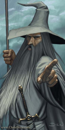 Gandalf from Lord of the Rings