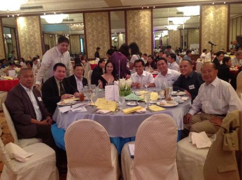 Chamber of Real Estate Builders Association (CREBA) Philippines Monthly Business Meeting at Intercontinental Hotel Makati City