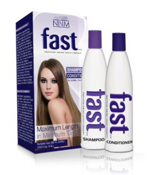 FAST Shampoo and Condituioner is the solution to a bad haircut!