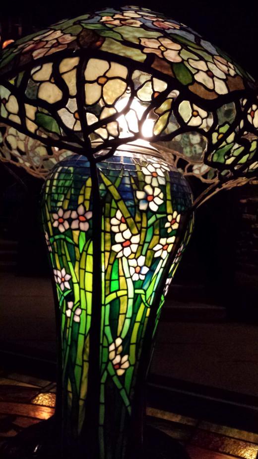 The mushroom lamp.