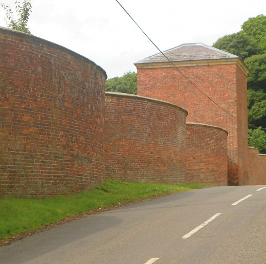 Wall in Carsington