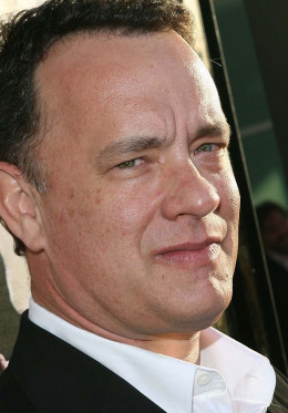 Tom Hanks, most trusted male, has a facial advantage.  Experts say wide-set eyes are non-threatening; A U-shaped mouth is trustworthy; so is an expression with a slight smile, eyebrows curved upward, softer jawlines and male faces with bigger chins.