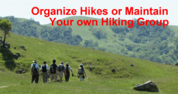 You don't have to hike rough terrain, I walked on flat, neighborhood streets. But this may appeal to some!