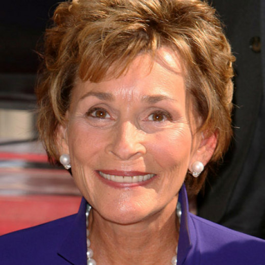 Judge Judy (51%) scored highest of all judges on the list.