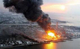 The mass meltdown of Fukushima occurred after the great earthquake and tsunami of March 11, 2011. The plant has been spewing radioactive material into the air and sea ever since.