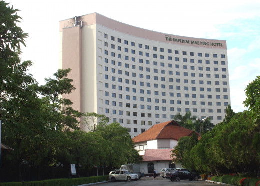 Imperial Mae Ping Hotel, Sri Donchai Rd, Chiang Mai, Chiang Mai